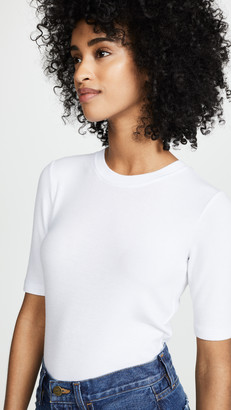 Goldie Ribbed Elbow Sleeve T-Shirt
