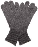 Brunello Cucinelli Cashmere And Suede Gloves