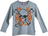 City Threads Skull Pirate Graphic Tee (Baby) - Concrete-6-9 Months