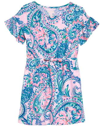 Lilly Pulitzer Stasia Flutter Sleeve Dress