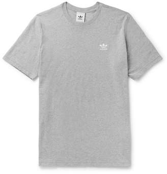 adidas Trefoil Essentials Melange Cotton-Jersey T-Shirt