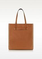 Valentino Garavani Rockstud - Brown Leather Tote