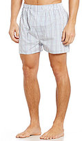 Roundtree & Yorke 2-Pack Checked Full-Cut Boxers