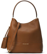 MICHAEL Michael Kors Kip Large Leather Bucket Bag, Luggage