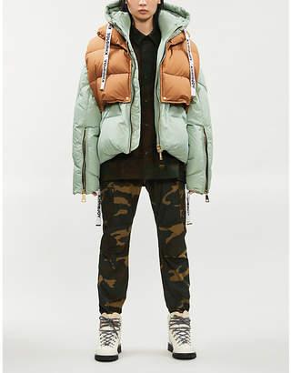 KHRISJOY Khris oversized shell-down puffer jacket