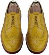 DEXINXIEYE @ England Gubuluoke complex England carved leather shoes Oxford shoes with low to help women's business tie casual shoes simple Round Rubber Lace -31