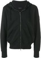 Belstaff logo patch zipped hoodie