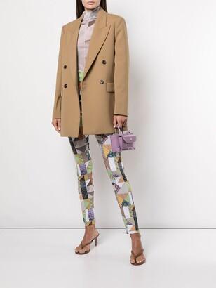 MAISIE WILEN Body Shop patchwork leggings