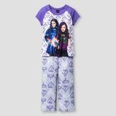 Descendants Girls' Pajama set - Purple