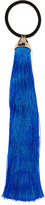 Rosantica Teatro Tasseled Gold-tone Hair Tie - Bright blue