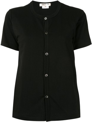 Comme des Garcons shortsleeved buttoned T-shirt