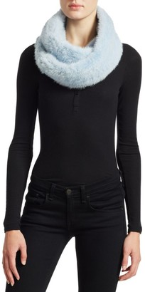 The Fur Salon Julia & Stella For Knit Mink Infinity Scarf