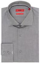 Hugo Boss Hugo By Hugo Boss Eraldi Oxford Cotton Regular Fit Shirt, Black