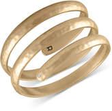 Rachel Roy Gold-Tone Spiral Cuff Bracelet