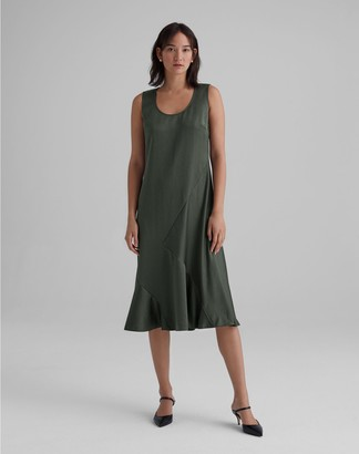 Club Monaco Seamed Bias Dress