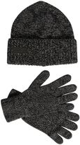 DSQUARED2 Wool Knit Beanie Hat & Gloves Set