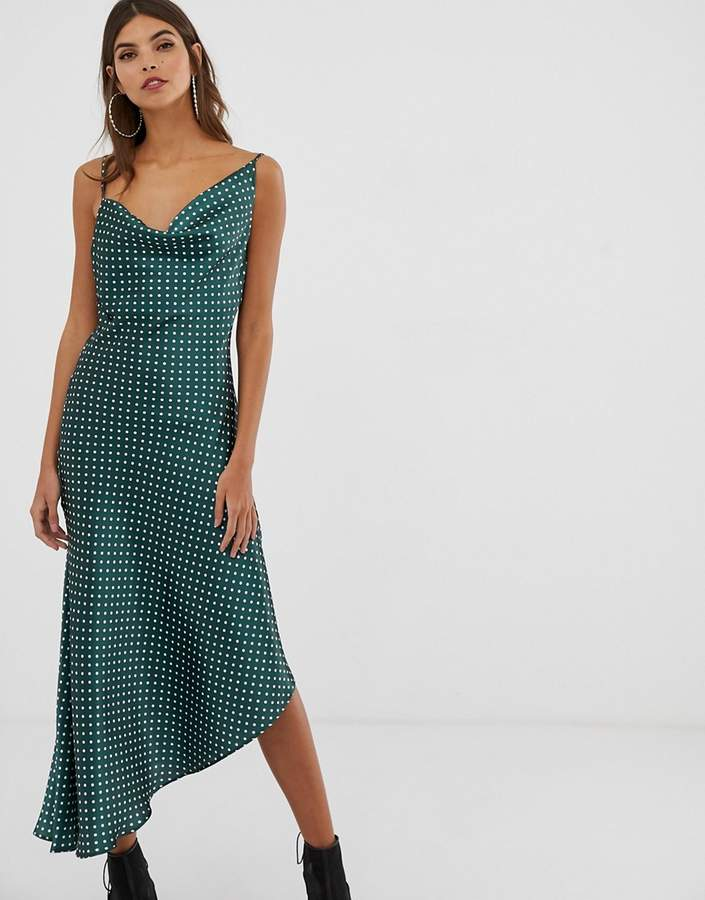 bcfae5082f1383 Asos Green Midi Dresses - ShopStyle