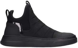 Bruno Bordese Bike Dreamer Sneakers In Black Leather