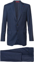 Isaia notched lapel two-piece suit - men - Wool - 50
