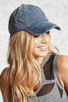 Forever 21 FOREVER 21+ Faded Denim Baseball Cap
