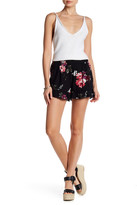 Living Doll Rose Printed Ruffle Soft Short