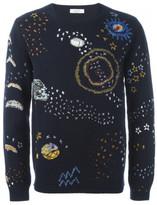 Valentino cosmo stitch jumper