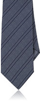 Giorgio Armani Men's Stripe-Pattern Necktie-LIGHT BLUE