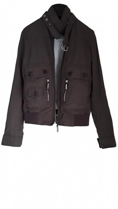 Henry Cotton Brown Leather Jacket for Women