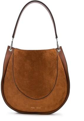 Proenza Schouler large Arch suede shoulder bag