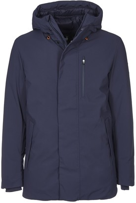 Save The Duck Down Parka Jacket With Logo