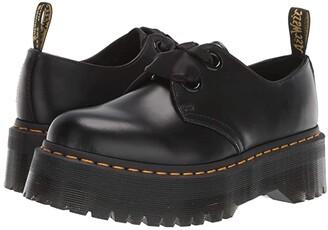 Dr. Martens Holly Quad Retro (Black Buttero) Women's Shoes