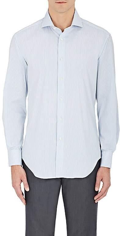 Barneys New York Men's Striped Cotton-Blend Dress Shirt