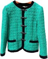 Ungaro Green Wool Jacket for Women Vintage