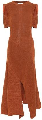Chloé Cotton-blend knit maxi dress