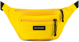 Balenciaga Explorer Belt Pack in Yellow | FWRD