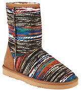 Lamo As Is Fabric w/ Suede Counter Ankle Boots w/ Faux Fur - Juarez