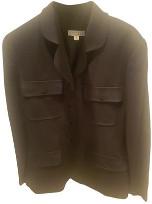 Barneys New York Black Wool Jacket for Women