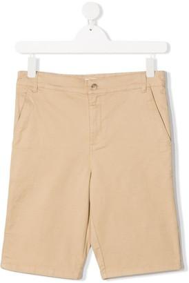 Bonpoint TEEN Elyas cotton-twill shorts