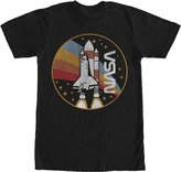 Fifth Sun NASA Rainbow Launch Mens Graphic T Shirt