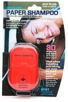 Natural Products Ltd. Dissolving Paper Shampoo, Mint Fragrance