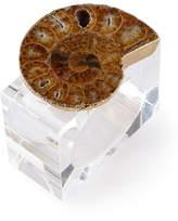 Kim Seybert Swirl Napkin Rings, Set of 4
