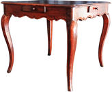 One Kings Lane Vintage Antique Italian Walnut Game Table