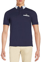 Fred Perry Slim-Fit Contrast-Trim Polo Shirt