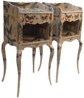 Bryonie Porter Pair Of Butterfly Bedside Chests