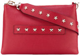 RED Valentino star studded clutch - women - Calf Leather/metal - One Size