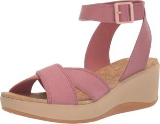 Clarks Women's Step CaliCoast Wedge Sandal