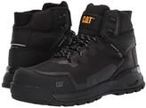 Caterpillar Propulsion Waterproof Composite Toe (Black Leather) Men's Work Boots