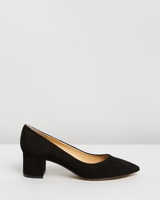 Atmos & Here Marli Leather Heels