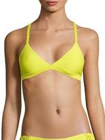 Mikoh Nusa Dua Woven Racerback Bikini Top