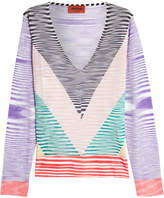 Missoni Striped Jersey Top